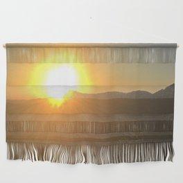 Asheville Sunrise Wall Hanging