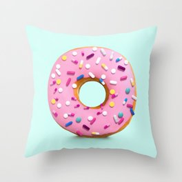 HAPPY PILLS Throw Pillow