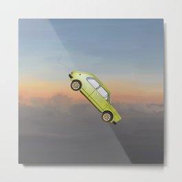 Art of Flying: The Car Metal Print