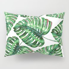 Tropical Greenery #society6 #decor #buyart Pillow Sham