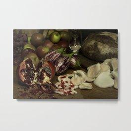 Still Life: Appetite Metal Print