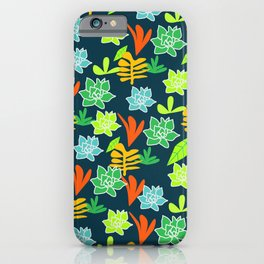 Cheerful plants iPhone Case