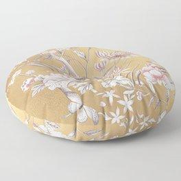 Chinoiserie Gold Floor Pillow