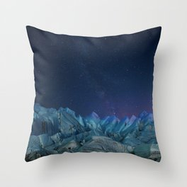 Milky Way and Stars - South Pole Throw Pillow