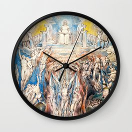 "William Blake ""The Day of Judgment"" Wall Clock"