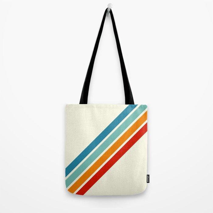 Alator - Classic 70s Retro Summer Stripes Umhängetasche