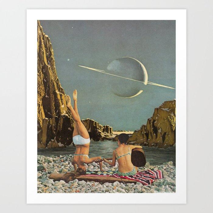Serenade to Saturn Kunstdrucke