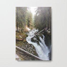 Sol Duc Falls Metal Print