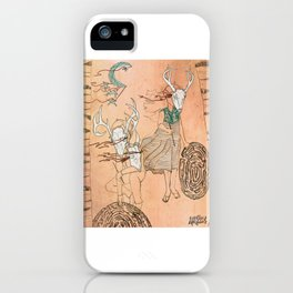 These Mazes We Carry iPhone Case