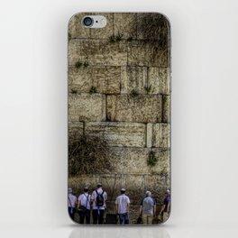 Wailing Wall Panorama iPhone Skin