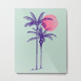 noche tropical Metal Print