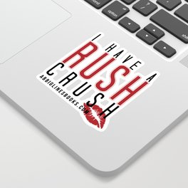Rush Crush Sticker