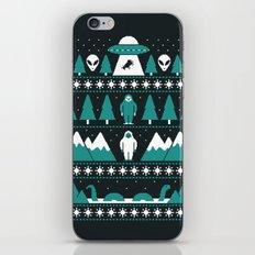 Paranormal Xmas iPhone Skin