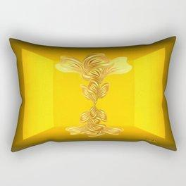 The gratitude plant Rectangular Pillow