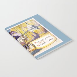 1913 Women's rights march Washington Notebook