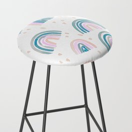 Rainbow Chroma Pastel Bar Stool