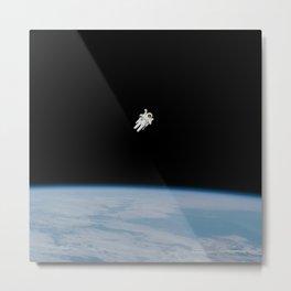 Over Earth Metal Print