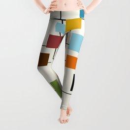 Mid-Century Modern Art 1.3 Leggings
