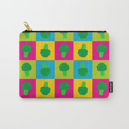 Popart Broccoli Carry-All Pouch