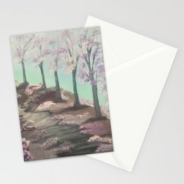 My cherry way - Spring blossoms Stationery Cards