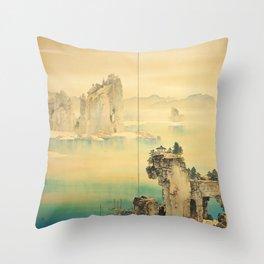 Good Omen - Yamamoto Shunkyo Throw Pillow