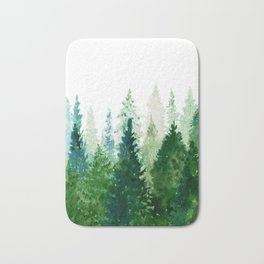 Pine Trees 2 Bath Mat