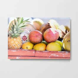 34. Havana Club and Fruits, Cuba Metal Print