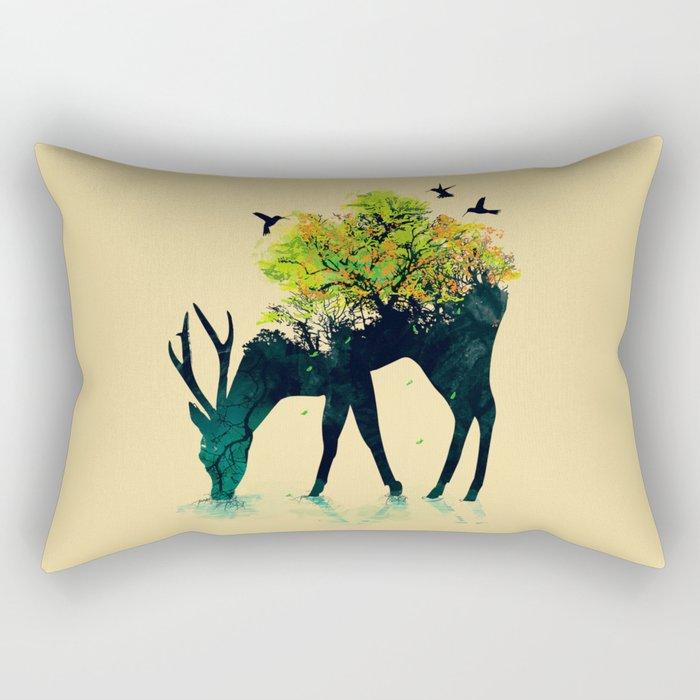 Watering (A Life Into Itself) Rectangular Pillow