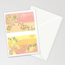 Sunrise Lovers Stationery Cards