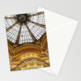 Galeries Lafayette in Color Stationery Cards