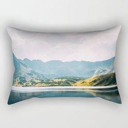 Autumn Mountain Lake   Dolina Pieciu Stawow Rectangular Pillow