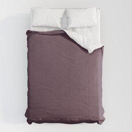 Deep Eggplant Purple Color Comforters