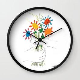 Le Bouquet Pablo Picasso Wall Clock