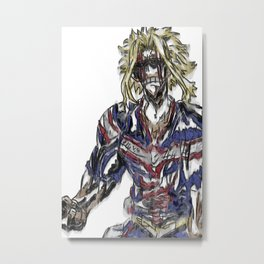 Not All Right Metal Print
