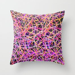 Informel Art Abstract G74 Throw Pillow