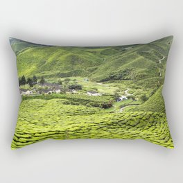 Cameron Highlands Tea Plantation Malaysia Rectangular Pillow