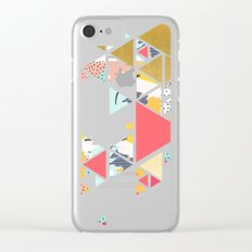 Gold Abstraction #society6 #decor #buyart Clear iPhone Case