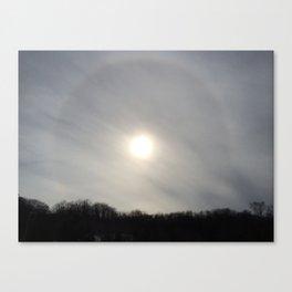 Chemtrail Corona Canvas Print