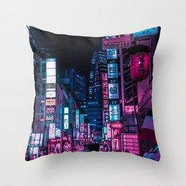 Stranger In The Night Throw Pillow