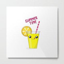 Summer drink Metal Print