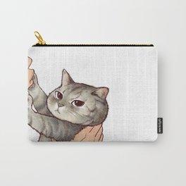 cat : hmmmmm! Carry-All Pouch