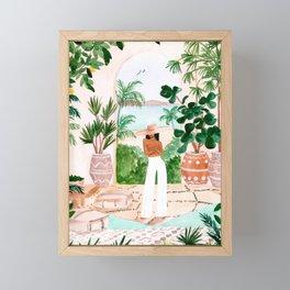 Peaceful Morocco II Framed Mini Art Print