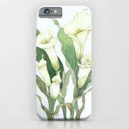 Calla Lily iPhone Case