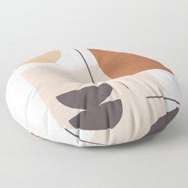 Minimal Shapes No.43 Floor Pillow