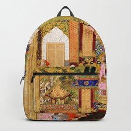 Islam Babur Beg Painting Backpack