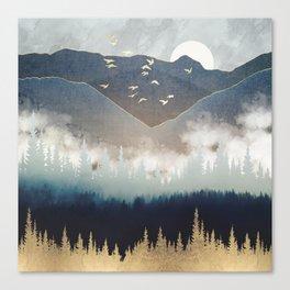 Blue Mountain Mist Canvas Print