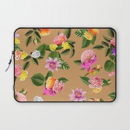 Frida Floral (Orange) Laptop Sleeve