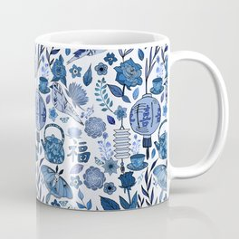 Chinoiserie Tea in the Garden Coffee Mug