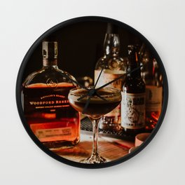Woodford Reserve Cocktail Wall Clock