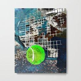 Tennis art print work 15 Metal Print
